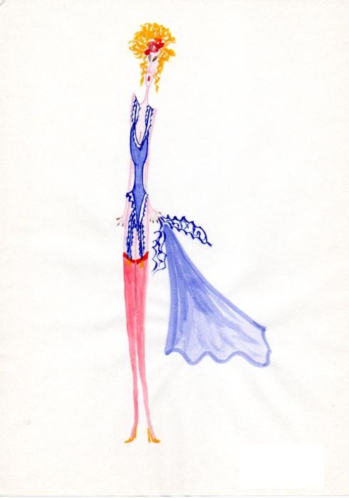 figurino lingerie